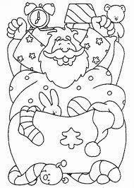 desenho papai noel na caminha