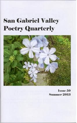 San Gabriel Valley Poetry Quarterly Summer 2013