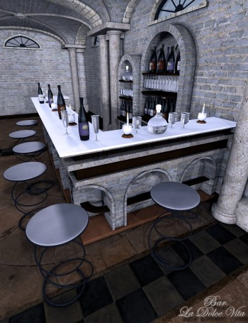 3d Models - La Dolce Vita BAR
