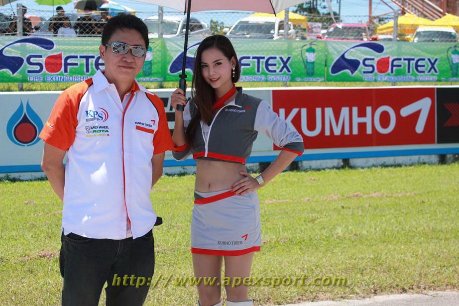ยางคัมโฮ pro racing series 1st 2013