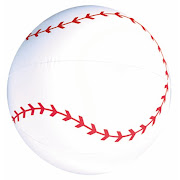 One Baseball Beach Ball. When you receive this beach ball it will measure 18 .