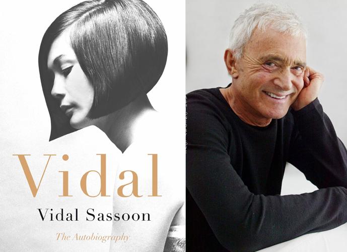 Best new fashion books Winter 2016 / Vidal by Vidal Sassoon, autobiography via www.fashionedbylove.co.uk british fashion blog