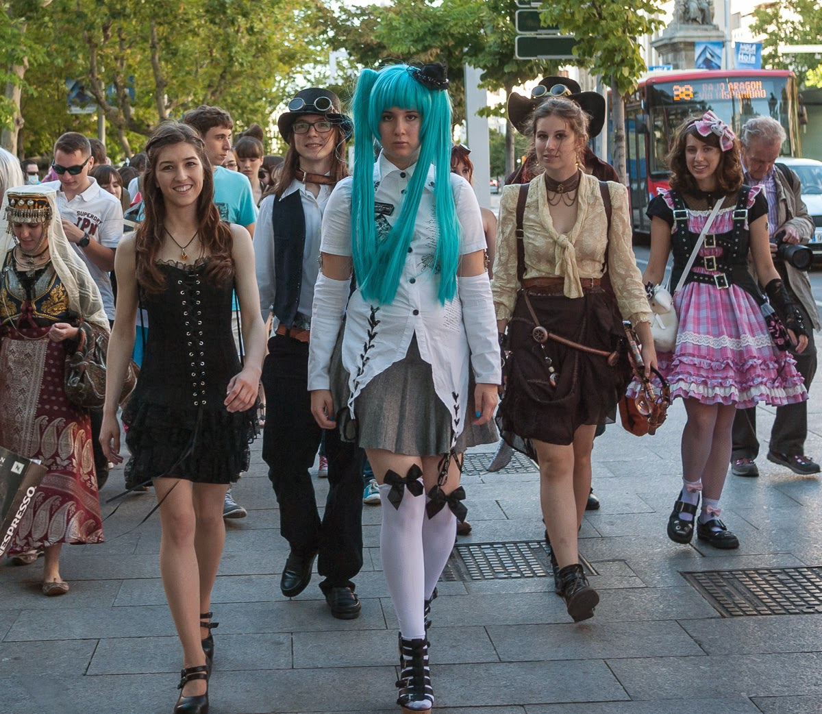 Harajuku Fashion Walk Zaragoza