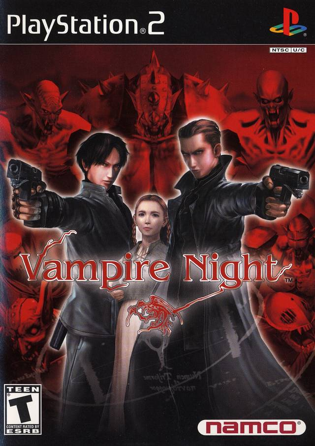 Ps2 Games All Of Them : Ps vampire night hiero s iso games collection