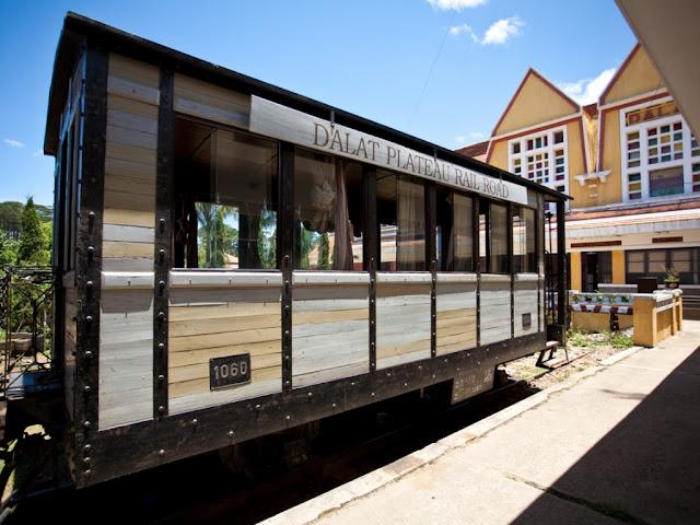 Museo del tren de Da Lat