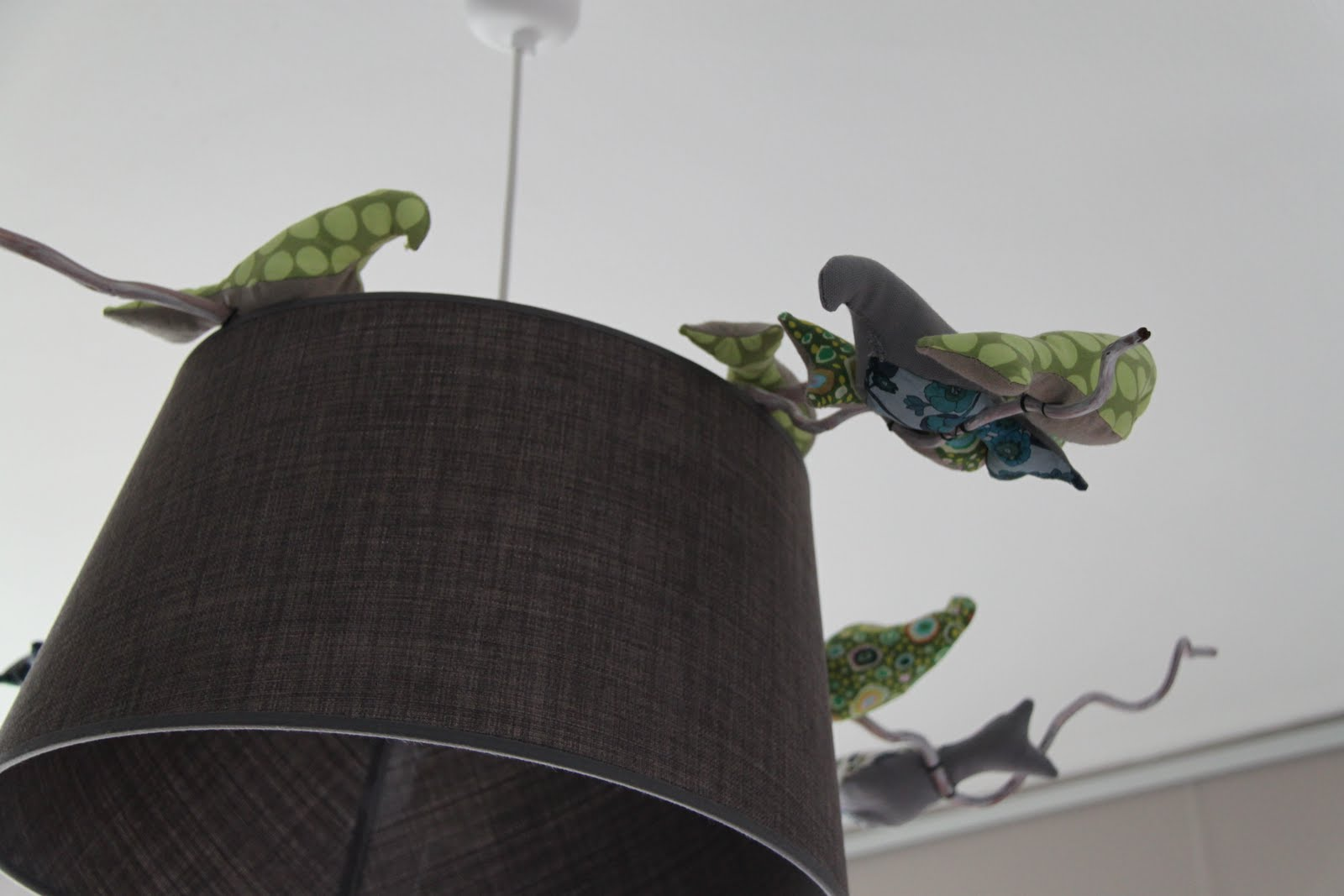 Le Reve D Un Mobile Avec Des Oiseaux En Tissu Reves D Art