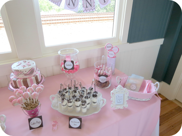Baby Shower Dessert Table