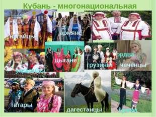 """Проект """"Кубань многонациональная"""""""