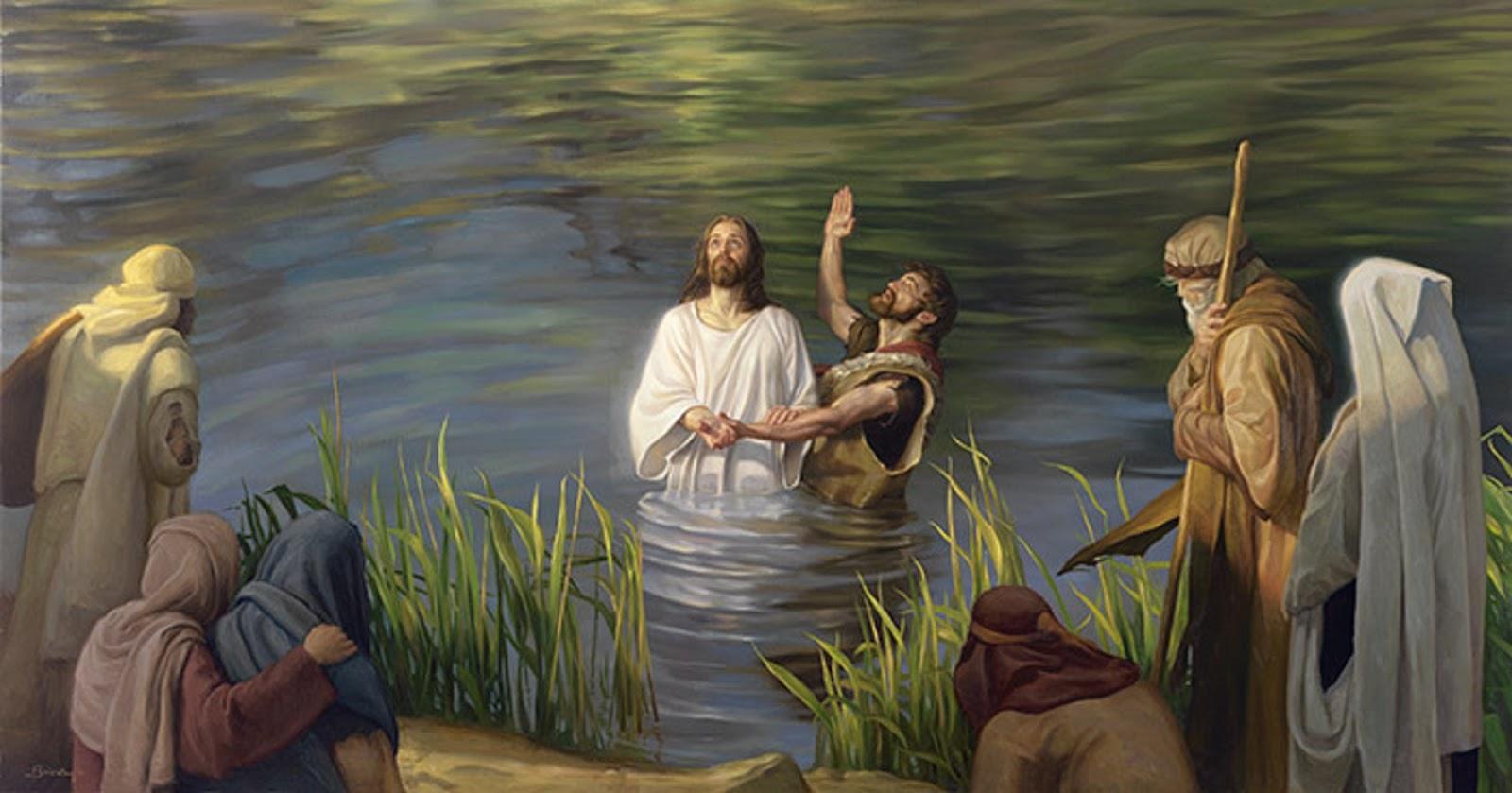 La liturgia diaria meditada - Solemnidad del Bautismo del Señor (Lc ...