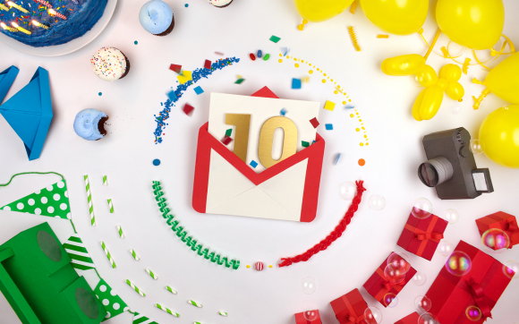 happy birthday gmail, gmail birthday, Happy Birthday Gmail : Successful 10 Years Journey, Goole mail birthday, Gmail features, gmail april fools, Google birthday, Gmail birthday celebration, Gmail team celebrates, How to Add Your Gmail Contacts' Birthdays, Happy Birthday, Gmail!, happy birthday gmail, Gmail Blue, Gmail security