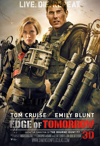 Edge of Tomorrow (BRRip 3D FULL HD Dual Latino / Inglés) (2014)