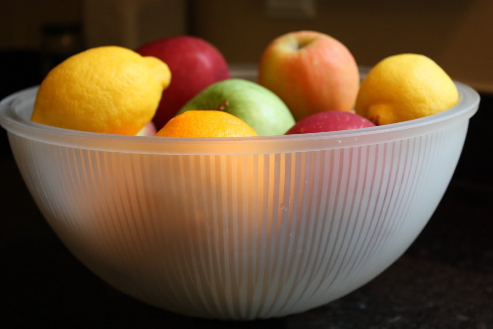 The Red Chair Blog Our Light Fixture Fruit Bowl Or How