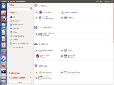 Ubuntu Compiz -ITTWIST