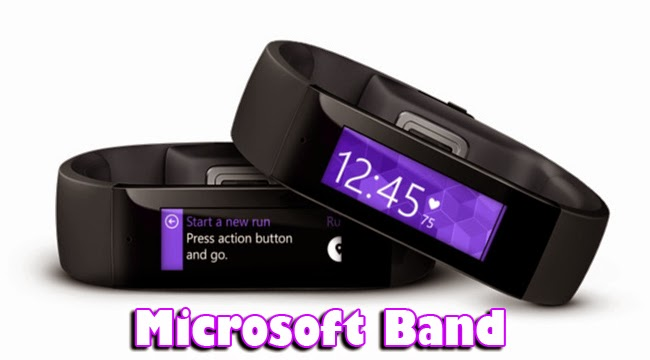 Microsoft Unveils Wearable Gadget Called Microsoft Band