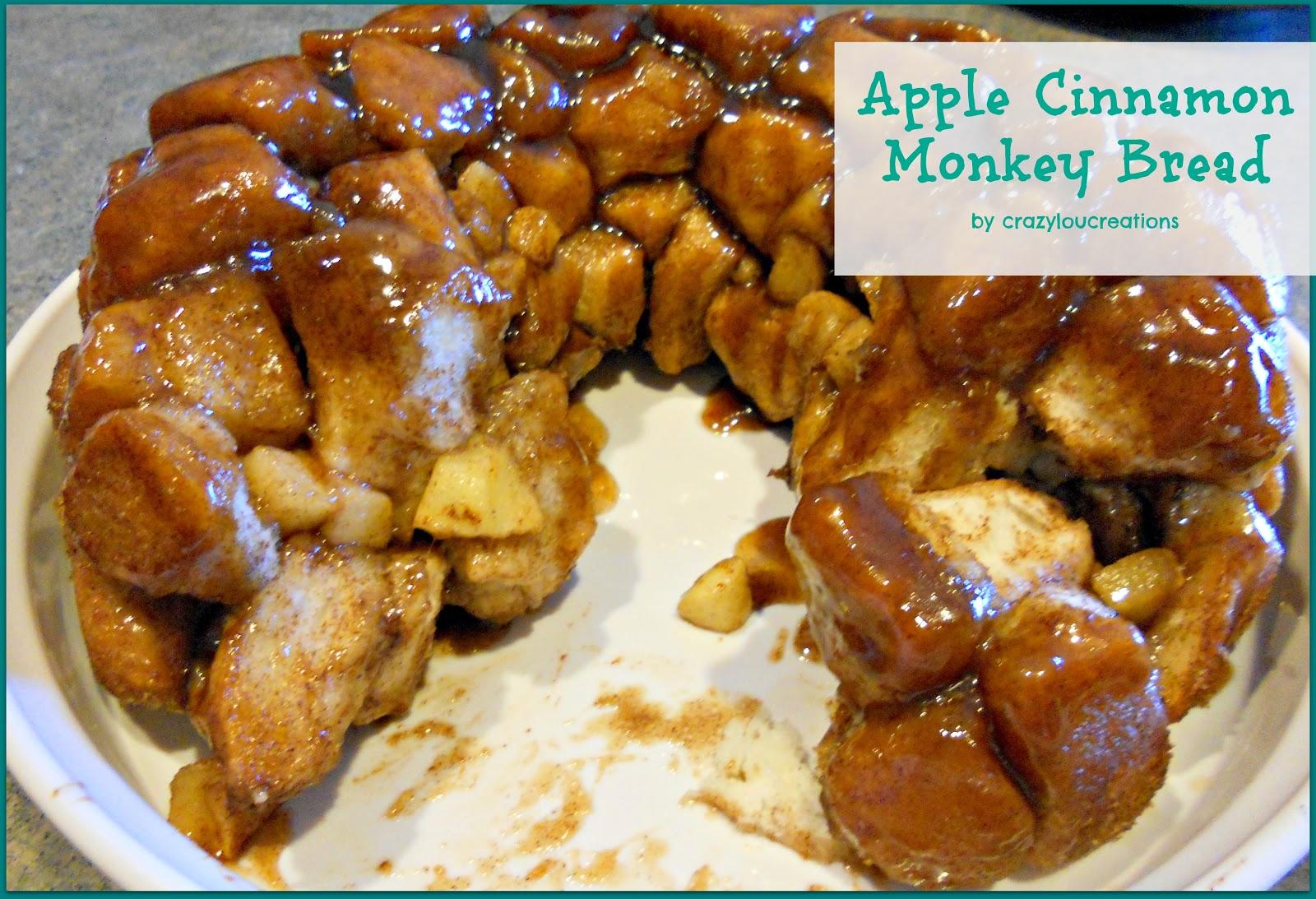 crazylou: Tasty Tuesday--Apple Cinnamon Monkey Bread