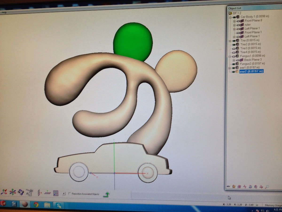 Nomadic Fungus 3d printing