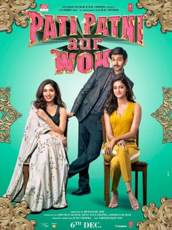 Pati Patni Aur Woh 2019 Hindi Movie 720p pDVDRip 1.2GB