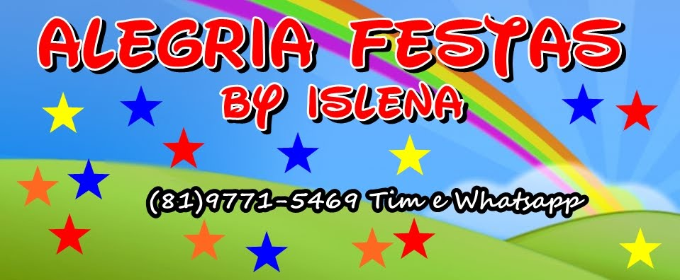 Alegria Festas by Islena