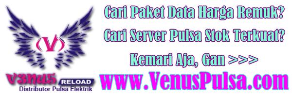 Server Pulsa Venus Reload Tangerang @ www.VenusPulsa.com