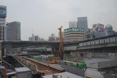東急渋谷駅跡の再開発エリア