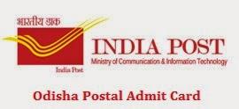 Odisha Post Admit Card 2014 - India Post Odisha MTS Postman Mail Guard Call letter