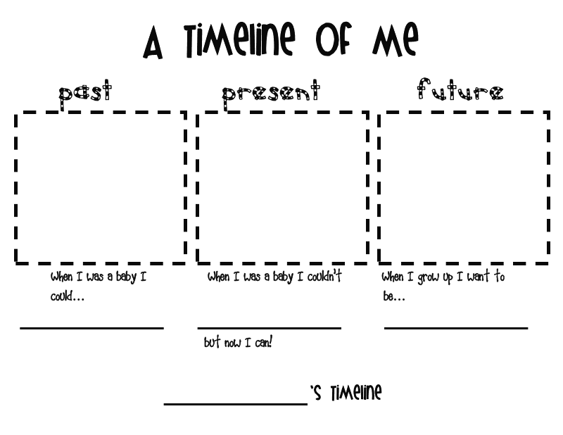 Gallery For gt Timeline Kids Worksheet
