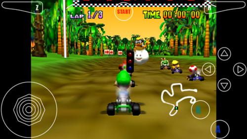 Aplikasi Game Nintendo 64 di Android