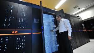 LangitKomputer.com - Komputer Tianhe 1A