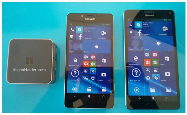 Microsoft Lumia 950, Lumia 950 XL and Display Dock