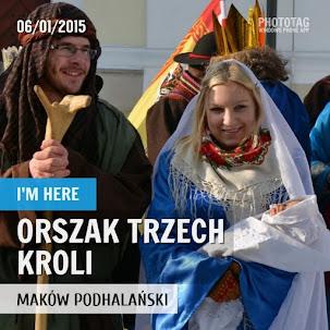 Orszak Trzech Króli - Maków Podhalański 2015