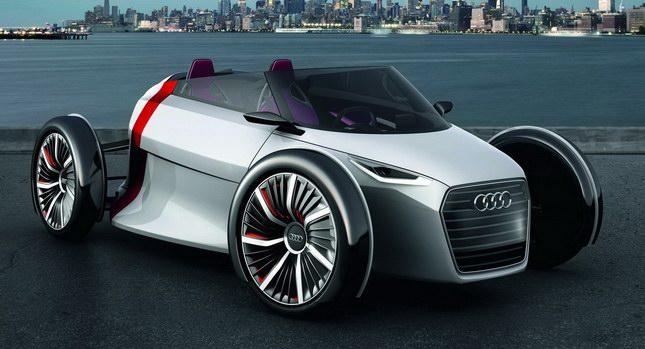 Audi Sportback y Audi Spyder Concept