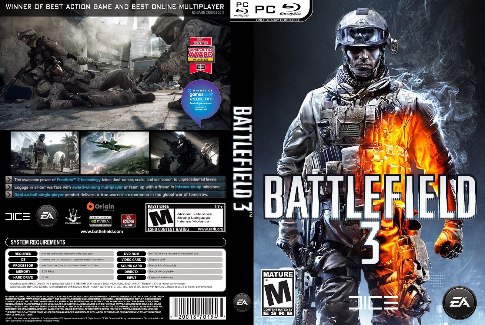 تحميل لعبة Battlefield 3
