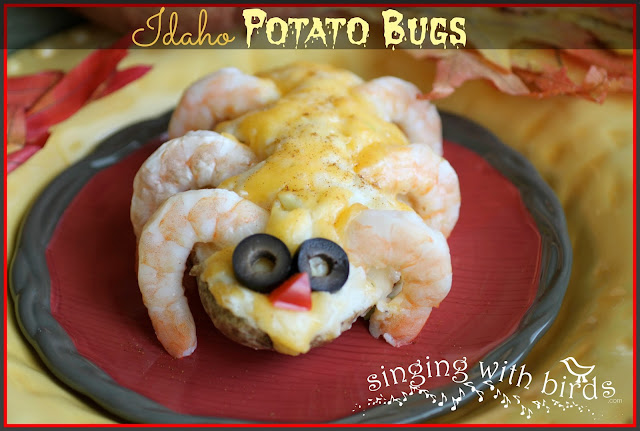 Idaho Potato Bugs @singingwithbirds.com