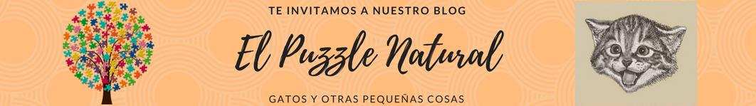 El PUZZLE NATURAL: GATOS, TERAPIA FLORAL Y PEQUEÑAS COSAS