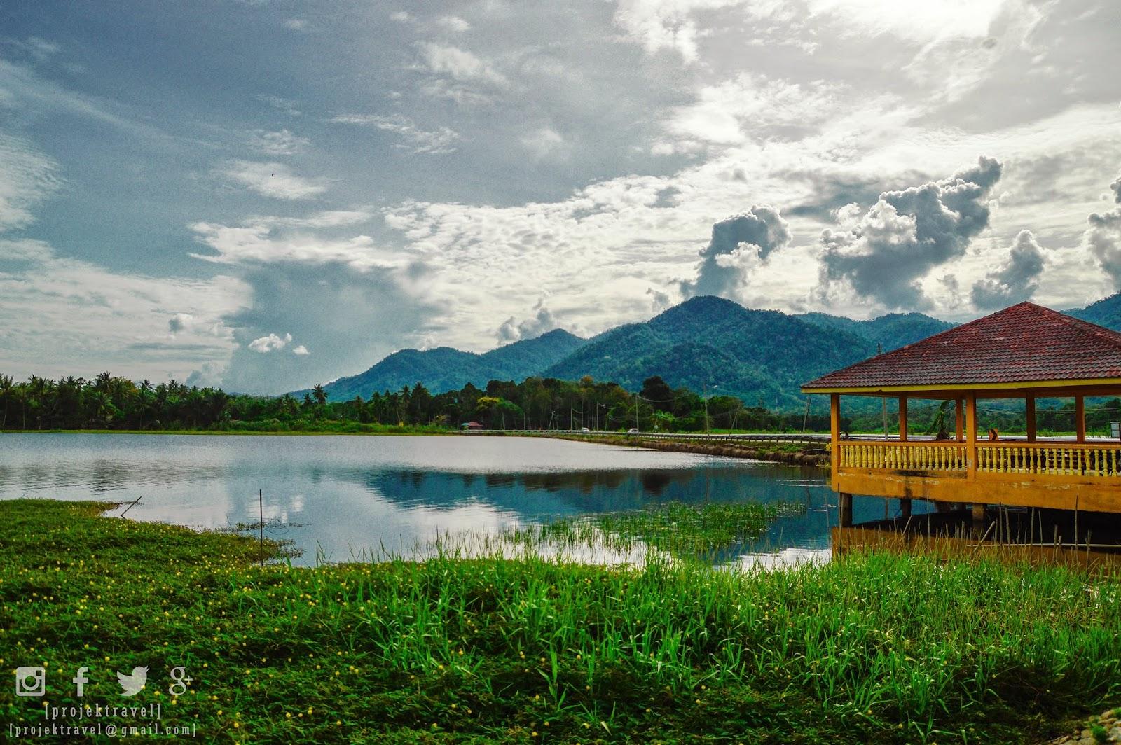 Keindahan Tasik Raban, Lenggong, Perak