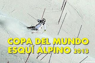 ESQUÍ ALPINO-Copa Mundial 2013