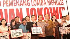 "72 Penulis Seword Terima Penghargaan ""Lomba Penulisan Pencapaian Jokowi"""
