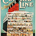 Cunard Line, To All Parts of the World - Vintage Travel Printable Poster