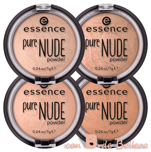 Pure nude powder