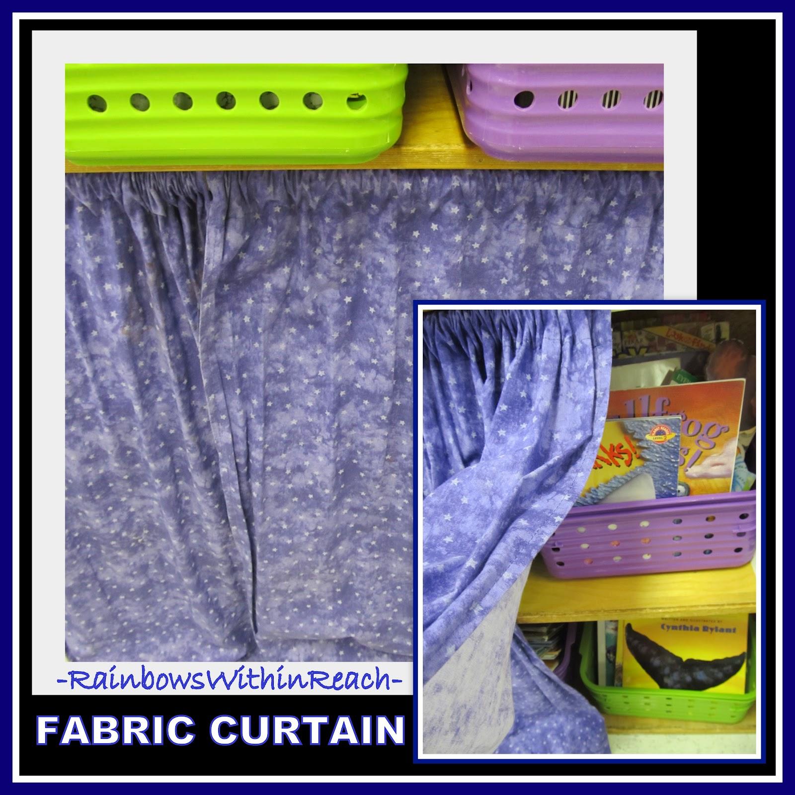 Classroom Curtain Ideas : Rainbowswithinreach spot