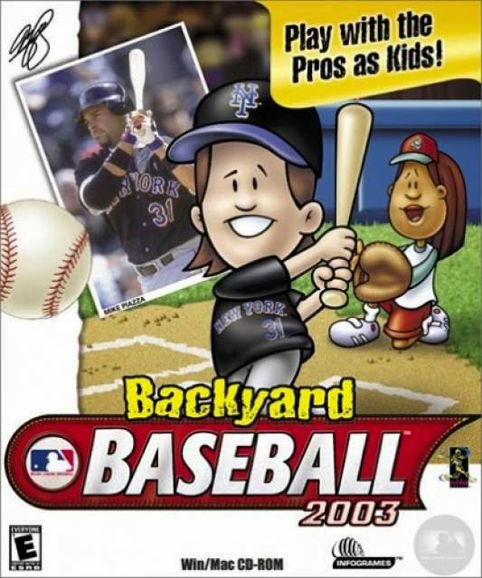 Backyard Baseball 2003 Game