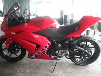 Kawasaki New Ninja er 650 hrga 105 jt