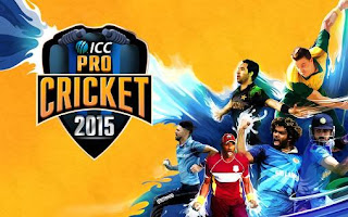 Screenshots of the ICC pro cricket 2015 for Android tablet, phone.