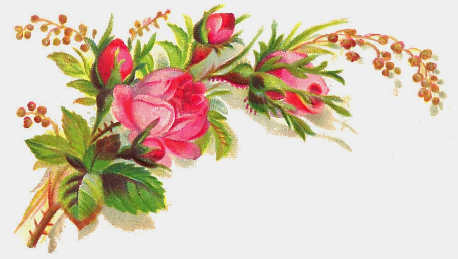 swirly roses background bouquet - photo #34