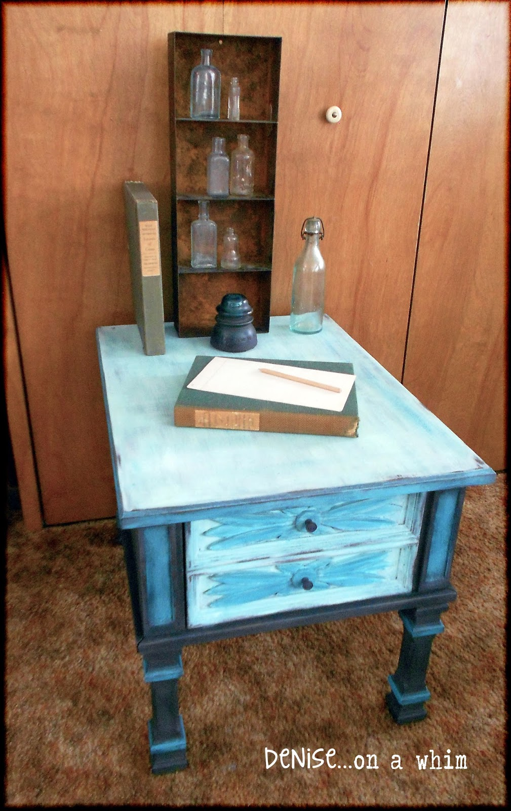 Adding paint can transform something you hate into something you love via http://deniseonawhim.blogspot.com