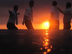 Elders in the Sunset