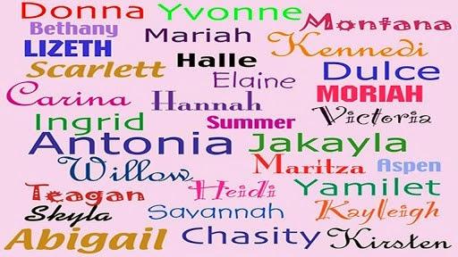 Significados de nombres de chicas