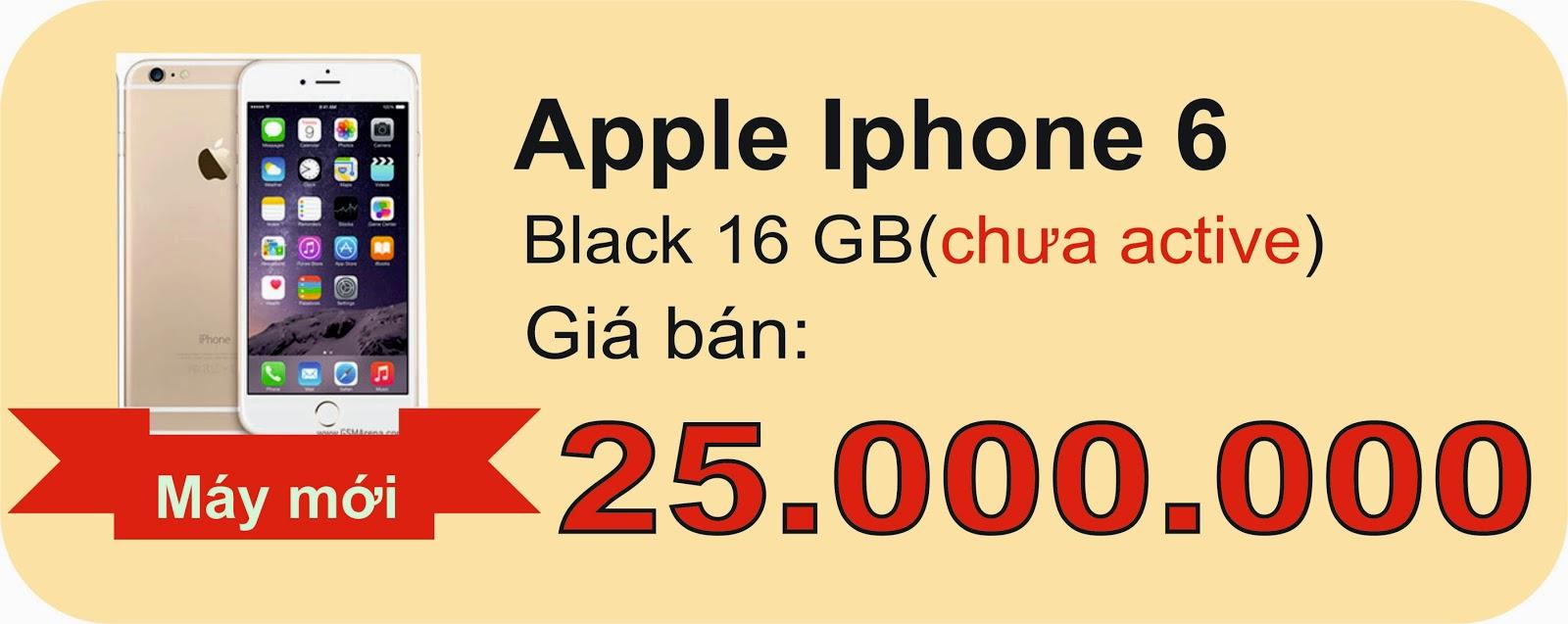 Quangphucmobile có Iphone 6 19/09