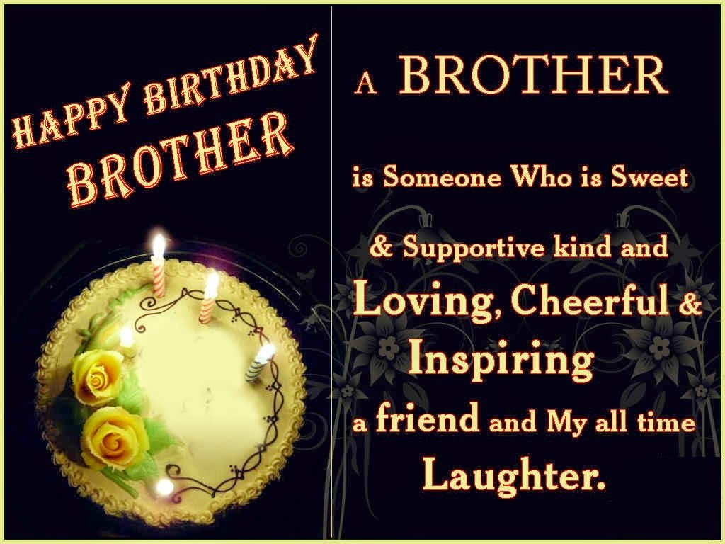 HD BIRTHDAY WALLPAPER ... Happy Birthday Quotes For Younger Brother