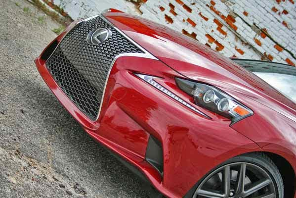 New 2014 Lexus IS350 F Sport & NASCAR Roadtrip